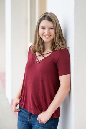 high school graduate young girl jo bryan photography