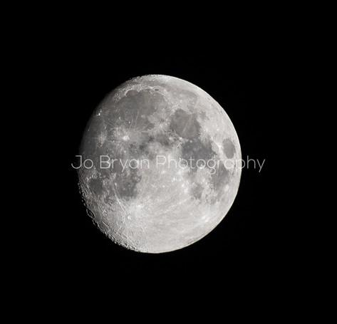 Rye NY New York Jo Bryan JoBryan photo photography photos moon outside almost full