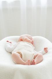 Rye NY New York Jo Bryan JoBryan photo photography photos baby inside portrait white calm sleeping young white background