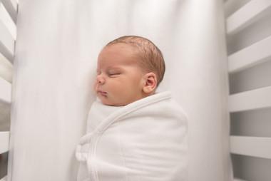 Rye NY New York Jo Bryan JoBryan photo photography photos baby inside portrait sleeping crib lifestyle newborn session family home