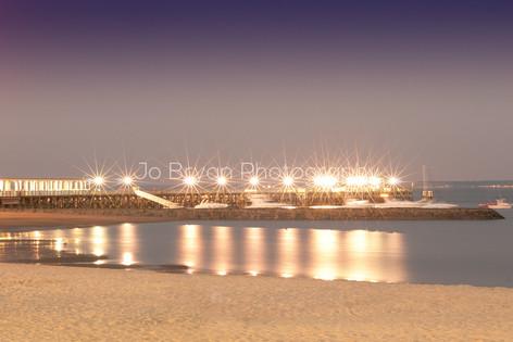 Playland Pier Lights