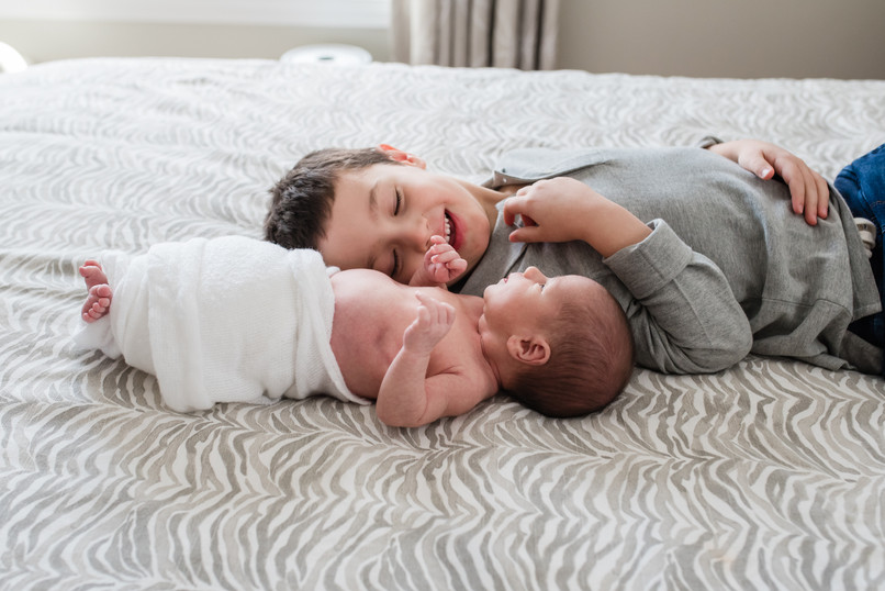 jo bryan photography rye newborn home lifestyle siblings baby brother new york