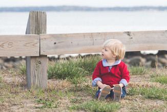 Rye NY New York Jo Bryan studio natural light little boy beach outdoor family photo session JoBryan photo photography blonde hair