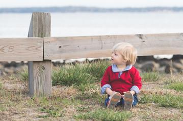 Rye NY New York Jo Bryan studio natural light little boy beach outdoor family photo session JoBryan photo photography blonde hair
