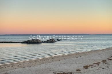 long island sound beach sunset jo bryan photography