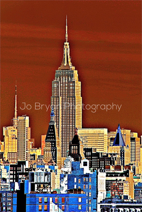 Empire State Abstract