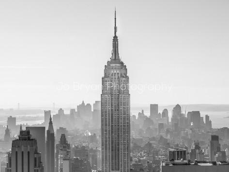 Empire State B&W