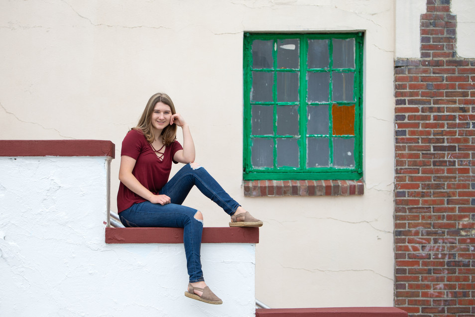 high school graduate young woman jo bryan photography