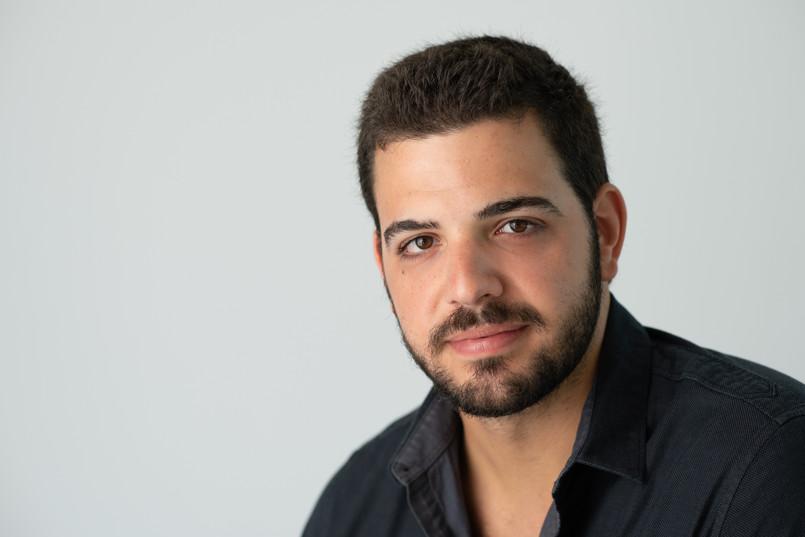 headshot man business actor dark hair smile jo bryan photography rye new york white background professional