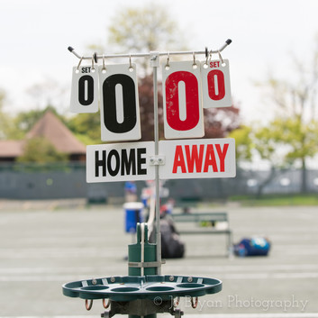 Rye NY New York Jo Bryan JoBryan photo photography photos tennis court score board outside blurred background