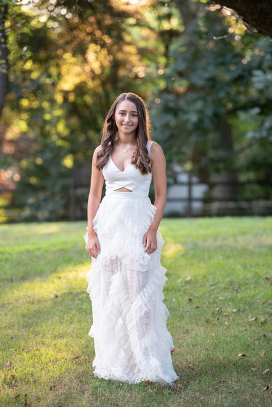High School Graduate graduation college prom dress sunset jo bryan photography