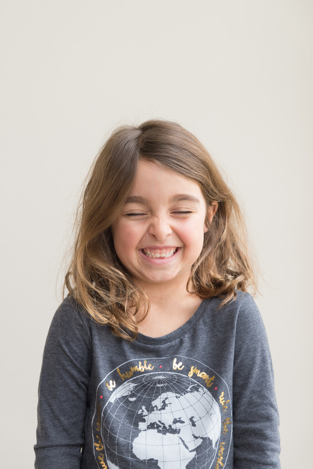 Rye NY New York Jo Bryan JoBryan photo photography solo young girl laughing home lifestyle portrait natural light smiling