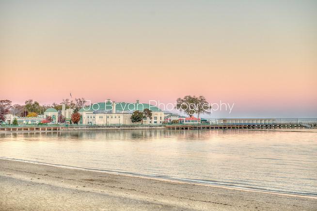 long island sound beach sunset jo bryan photography playland boardwalk pier