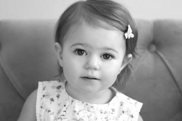 Rye NY New York Jo Bryan JoBryan photo photography photos black and white BW B&W studio portrait baby girl