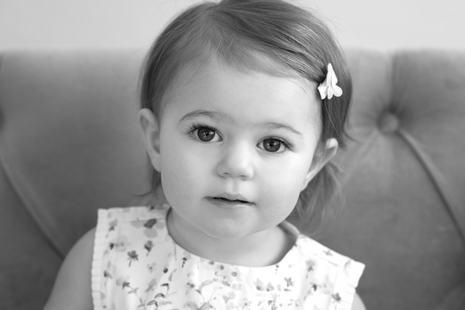 Rye NY New York Jo Bryan JoBryan photo photography photos black and white BW B&W studio portrait baby girl