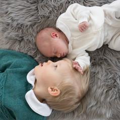 Rye NY New York Jo Bryan JoBryan photo newborn brother and sister photography photos siblings inside portrait