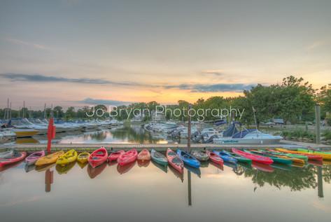 Rye Marina Kayaks
