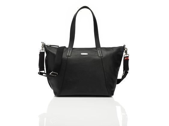 Storksak - Noa leather changing bag + Complete hospital essentials