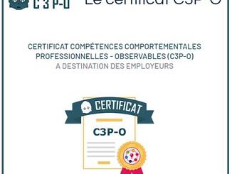 Le certificat C3P-O : l'outil de recommandation des candidats pour les employeurs