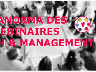 Panorama des webinaires RH & Management