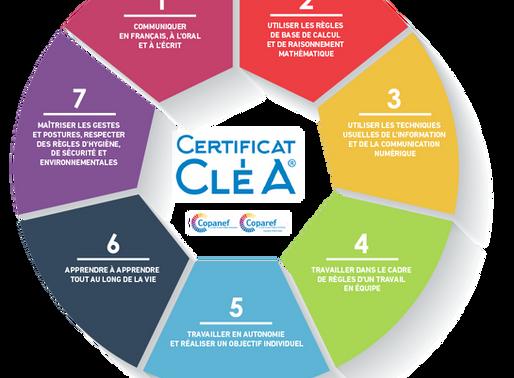 Vous êtes pro faites le savoir : Le certificat CléA