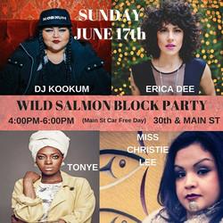 wild salmon block party 2018
