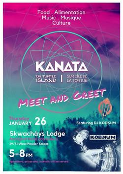 Kanata meet and greet Jan 26