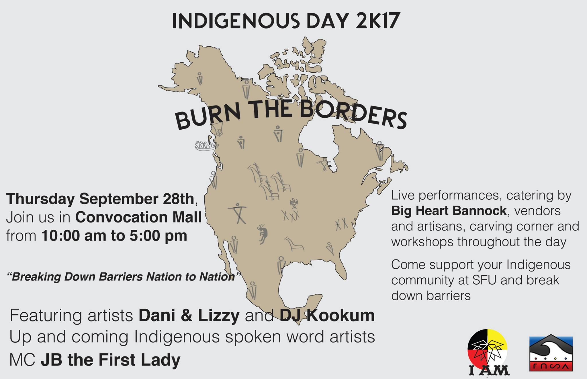 indigenous day 2017 SFU