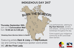 indigenous day 2017 SFU