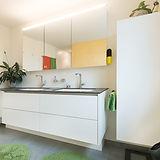 waschbeckenunterbau, badezimmer schränke