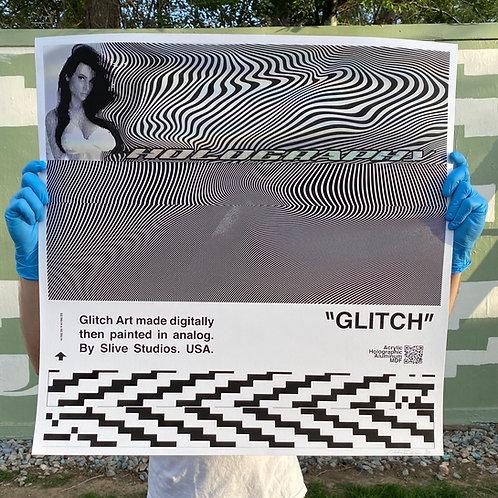 """holography metadata"" Print"