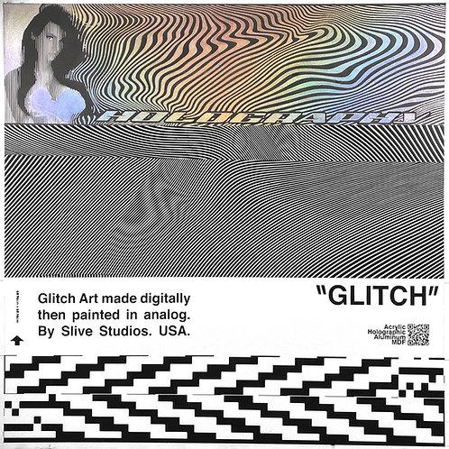 """holography metadata"" Original Painting"