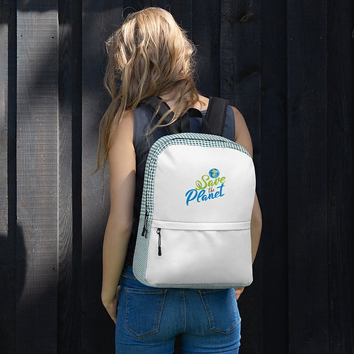 """Save the Planet"" Backpack"