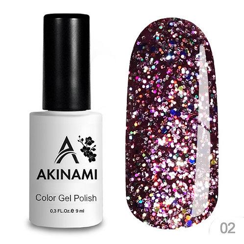 Akinami Color Gel Polish Disko 02