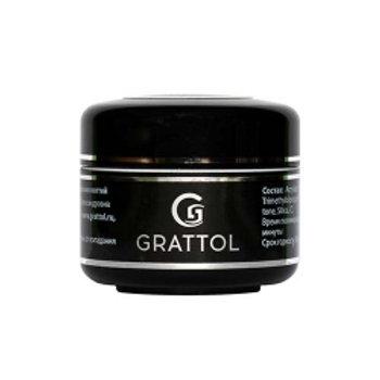 Grattol Fiber Gel Прозрачный однофазный гель  с  добавлением  стекловолокна 15мл