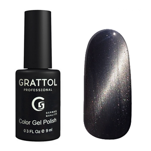 Grattol Color Gel Polish Crystal Silver 002
