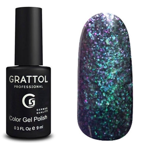 Grattol Color Gel Polish Galaxy Emerald 001