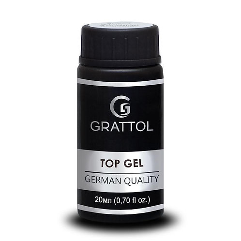 Grattol No Wipe Top Gel Mirror 20 мл