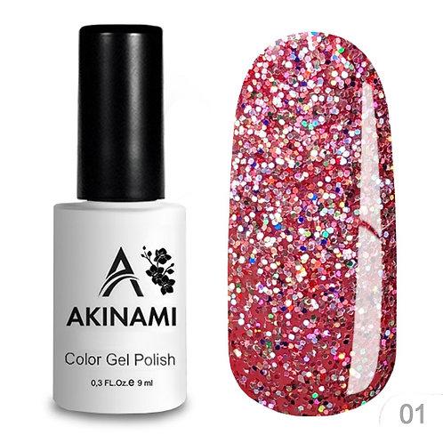 Akinami Color Gel Polish Disko 01