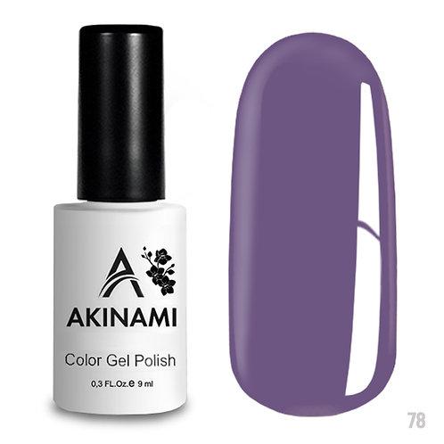 Гель-лак Akinami Color Gel Polish AСG078