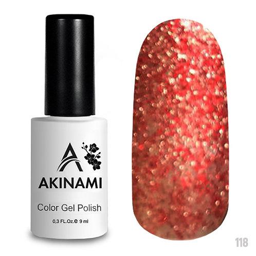 Гель-лак Akinami Color Gel Polish AСG118