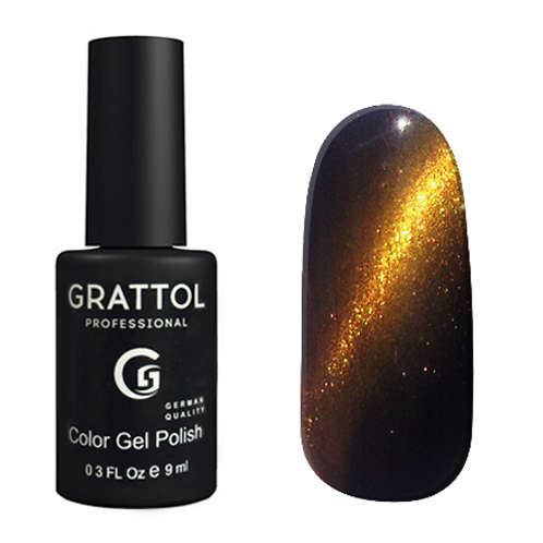 Grattol Color Gel Polish Crystal Gold 001
