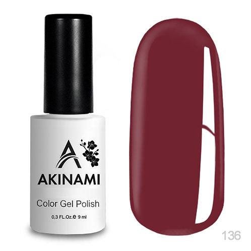 Akinami Color Gel Polish 136