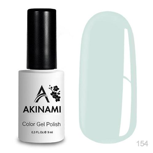 Akinami Color Gel Polish White Green 154