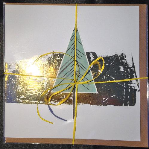 Pine Tree Christmas card pack - Carolyn Hird-Rogers