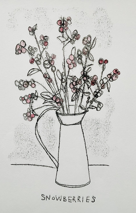Snowberries - Gillian Gilroy