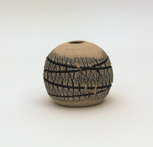 Veined Limestone Orb (with lustre) - Emmeline Butler