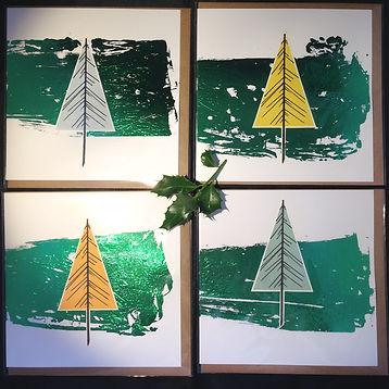 RI green foil tree 1 - Carolyn Hird-Roge