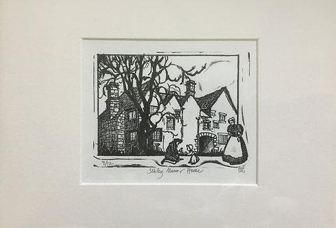 Ilkley Manor House Print