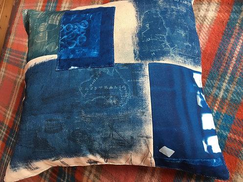 Tea Clipper Cushion - Liz Pollard